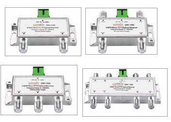 MINI FTTH PASSIVE OPTICAL RECEIVERS Designed for FTTH (Fiber To The Home) networks
